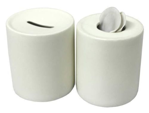 Money Box - Porcelain top and bottom